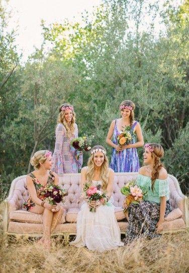 Matrimonio Tema Hippie : Matrimonio a tema boho chic hippy bohémien fate l