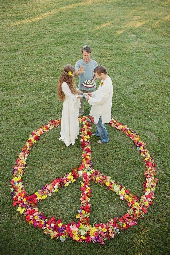Foto Matrimonio Bohemien : Matrimonio a tema boho chic hippy bohémien fate l amore non